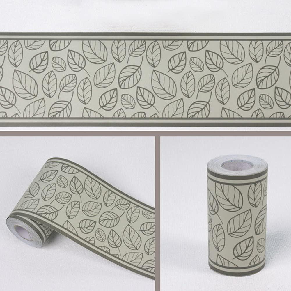 Simplelife4u Leaf Style Wallpaper Border Self-adhesive - Self Adhesive Border , HD Wallpaper & Backgrounds