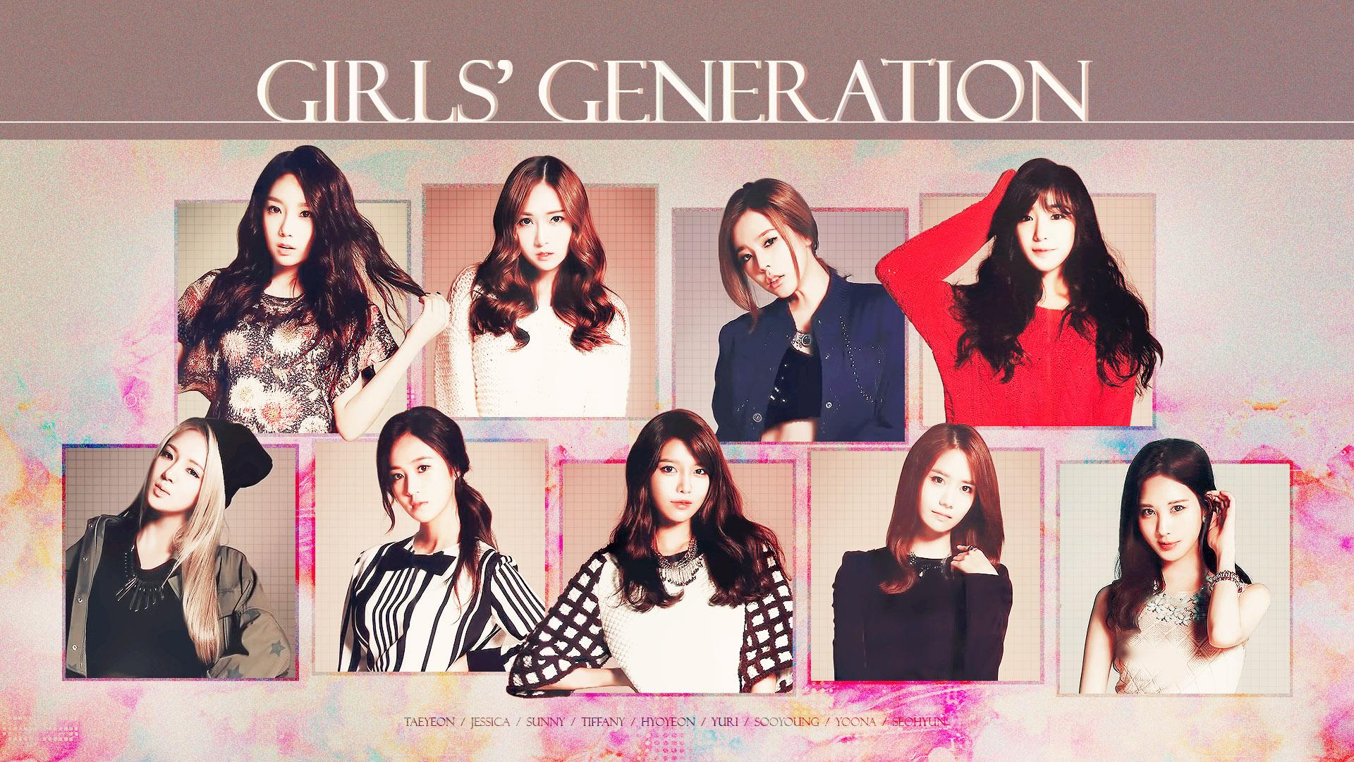Snsd Wallpaper Girls Generation Members 2018 290401