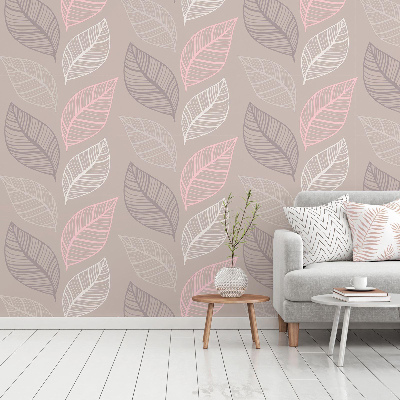 Carta Da Parati Immagini crown emporium elba leaf wallpaper glitter - carta da parati