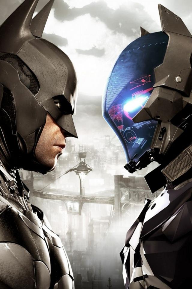 Download Now - Batman Arkham Knight Phone , HD Wallpaper & Backgrounds