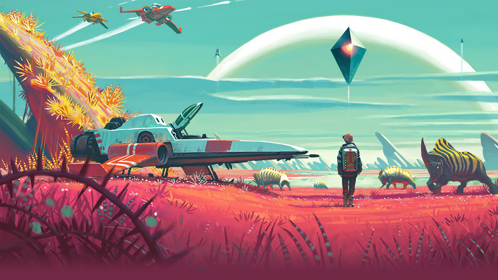 No Man S Sky Hd Wallpaper No Mans Sky Wallpaper Hd 292641
