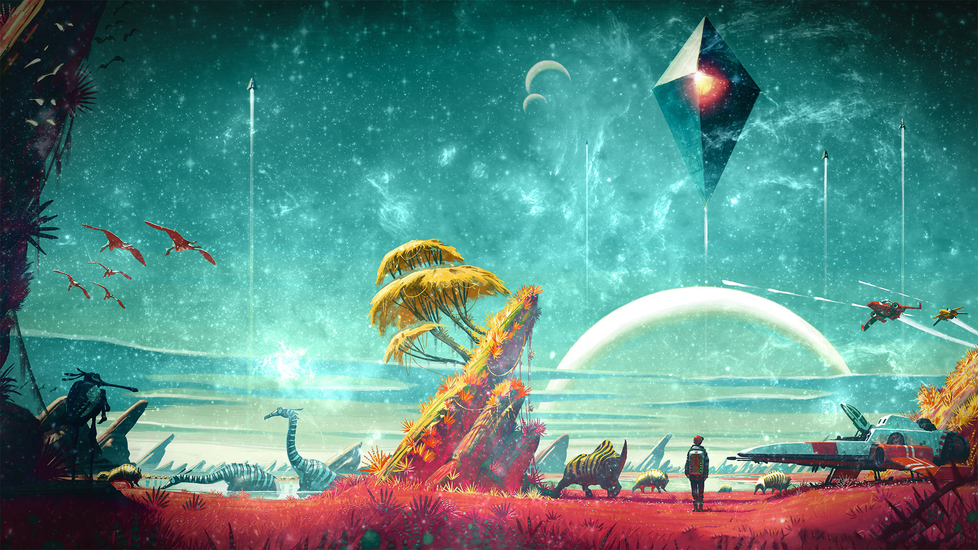 Video Games Playstation 4 No Mans Sky Wallpaper No Mans Sky