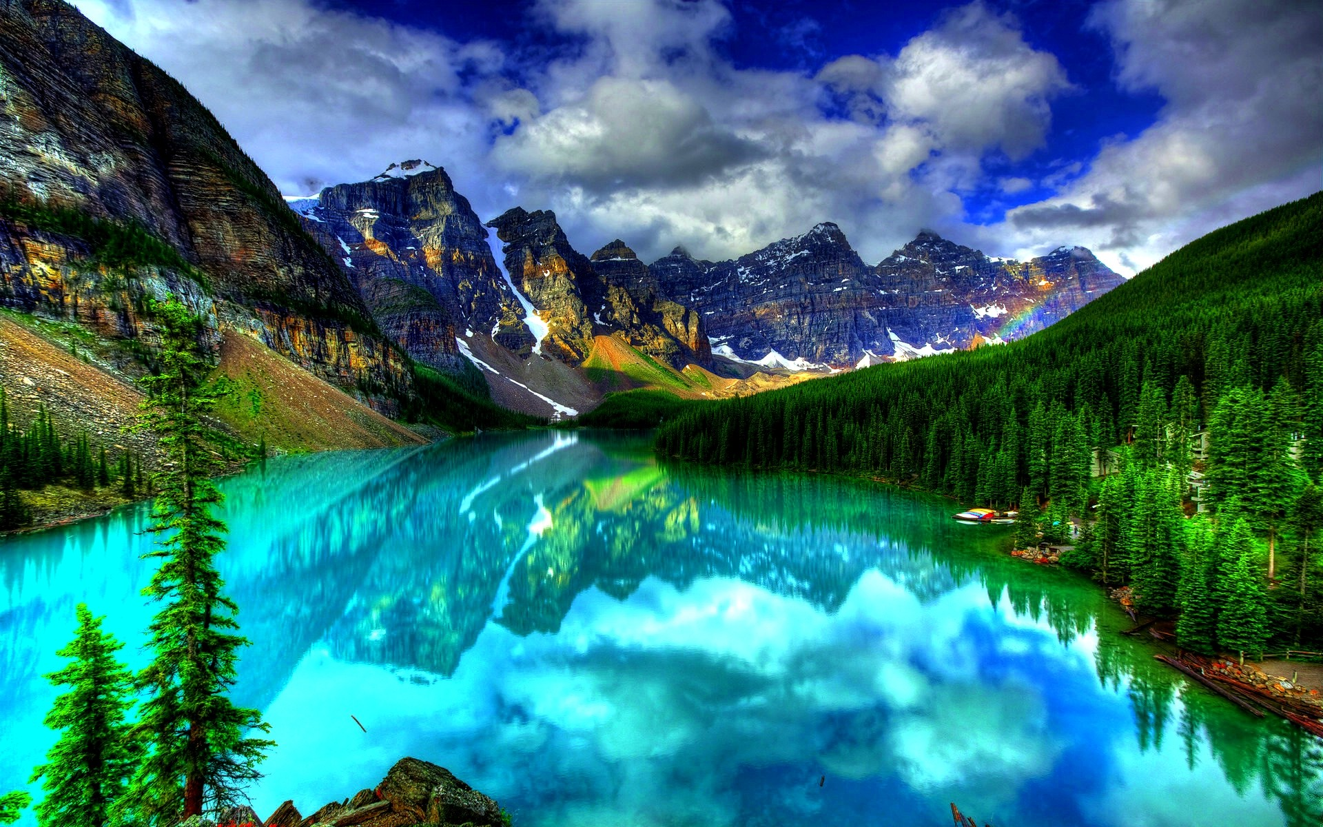 Most Beautiful Places In The World Hd Wallpaper Moraine Lake