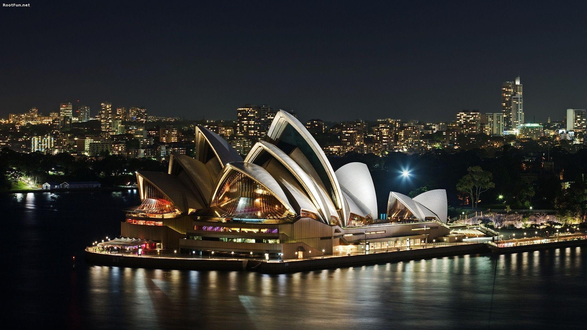 House Wallpaper Opera Sydney World Places Travel Images - Sydney Opera House , HD Wallpaper & Backgrounds