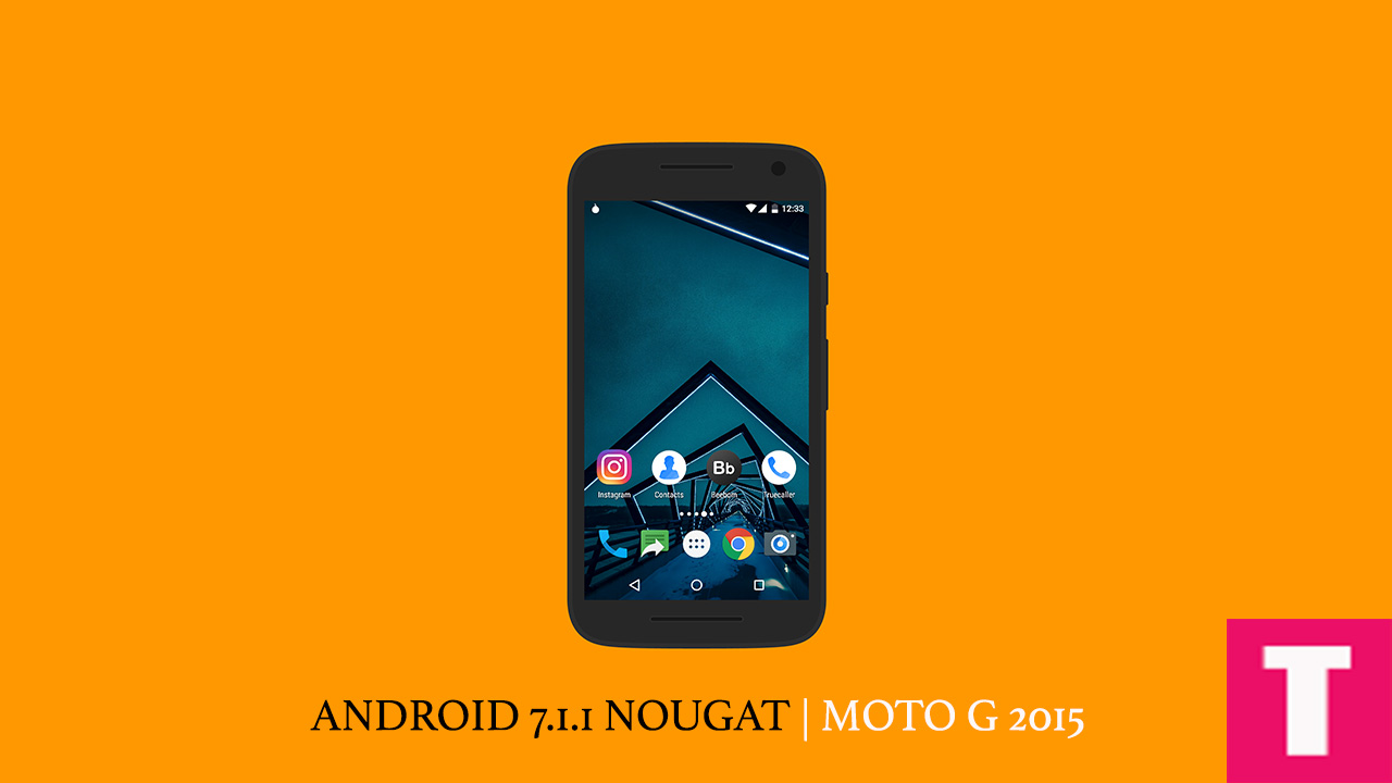 Stock Android Android 7 1 1 Moto G3 HD