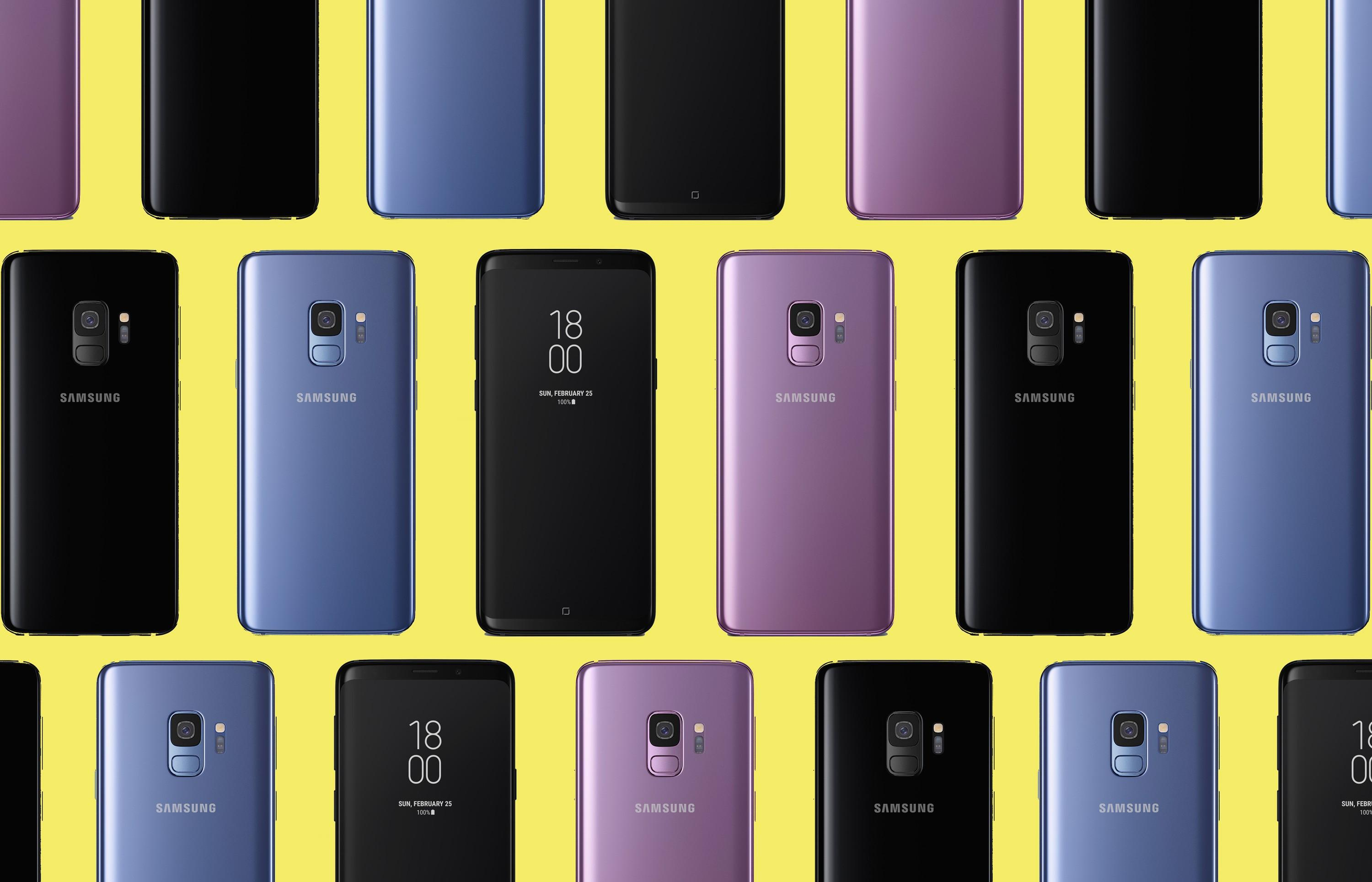 S7 Edge Wallpaper Hd - S9 Plus Warna , HD Wallpaper & Backgrounds