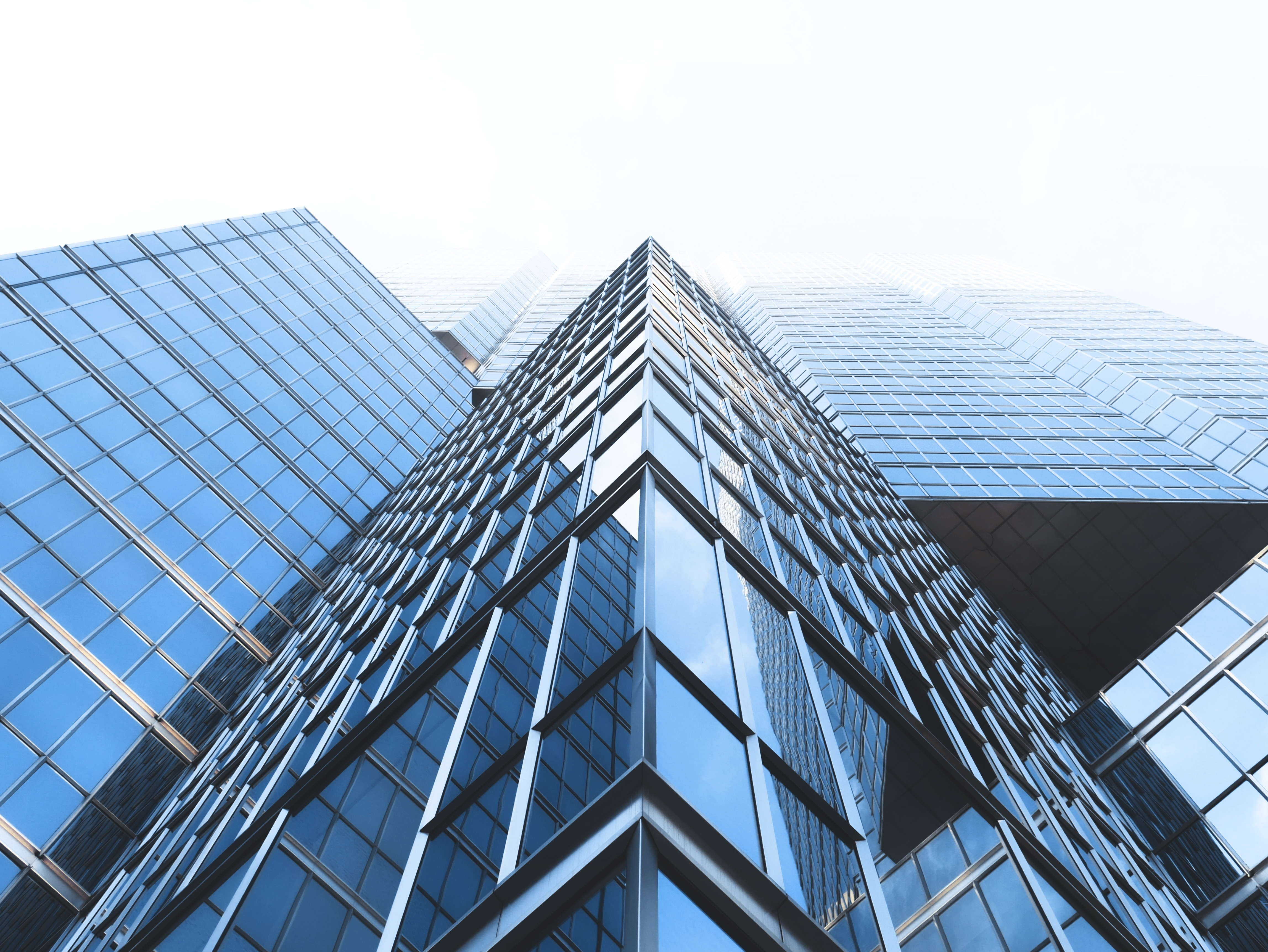 Wallpaper Modern Buildings, Worm View, Perspective, (#295680) - HD ...