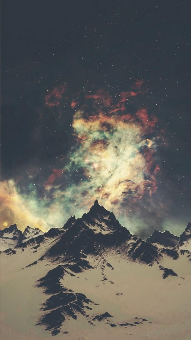 Iphone 5 Wallpaper Galaxy Tumblr Art Pinterest Wallpaper