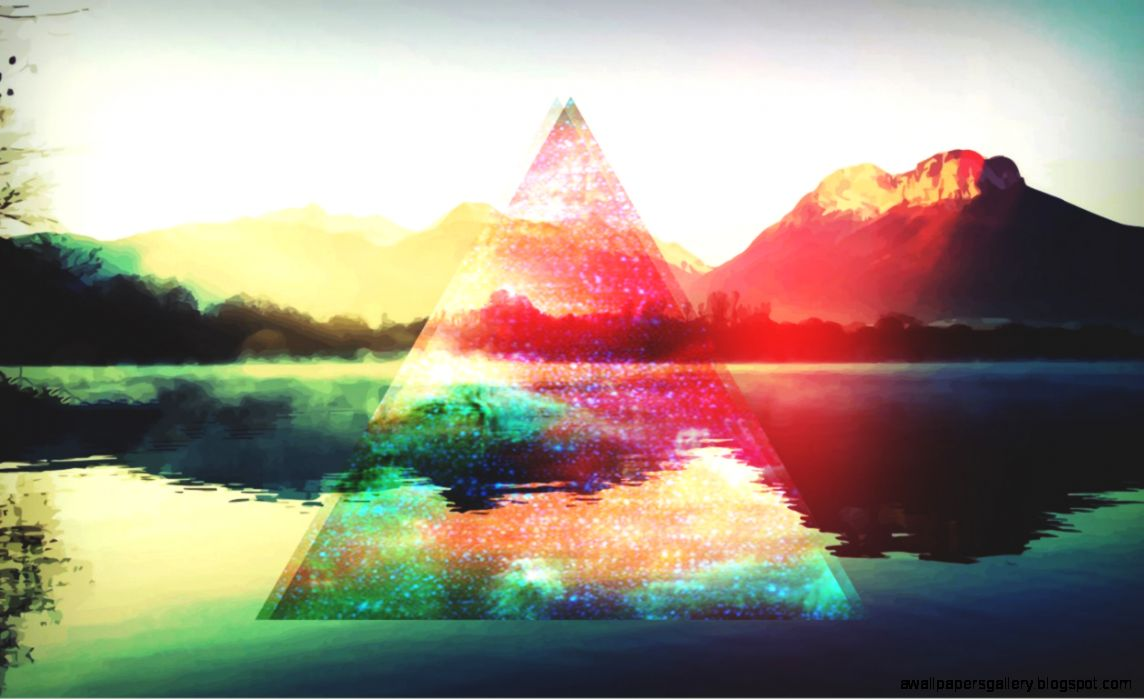 View Original Size - Background Tumblr Hipster Triangle , HD Wallpaper & Backgrounds