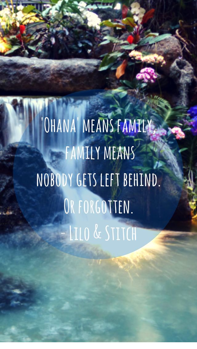 Ohana Iphone Wallpapers Tumblr Disney Phone Wallpaper