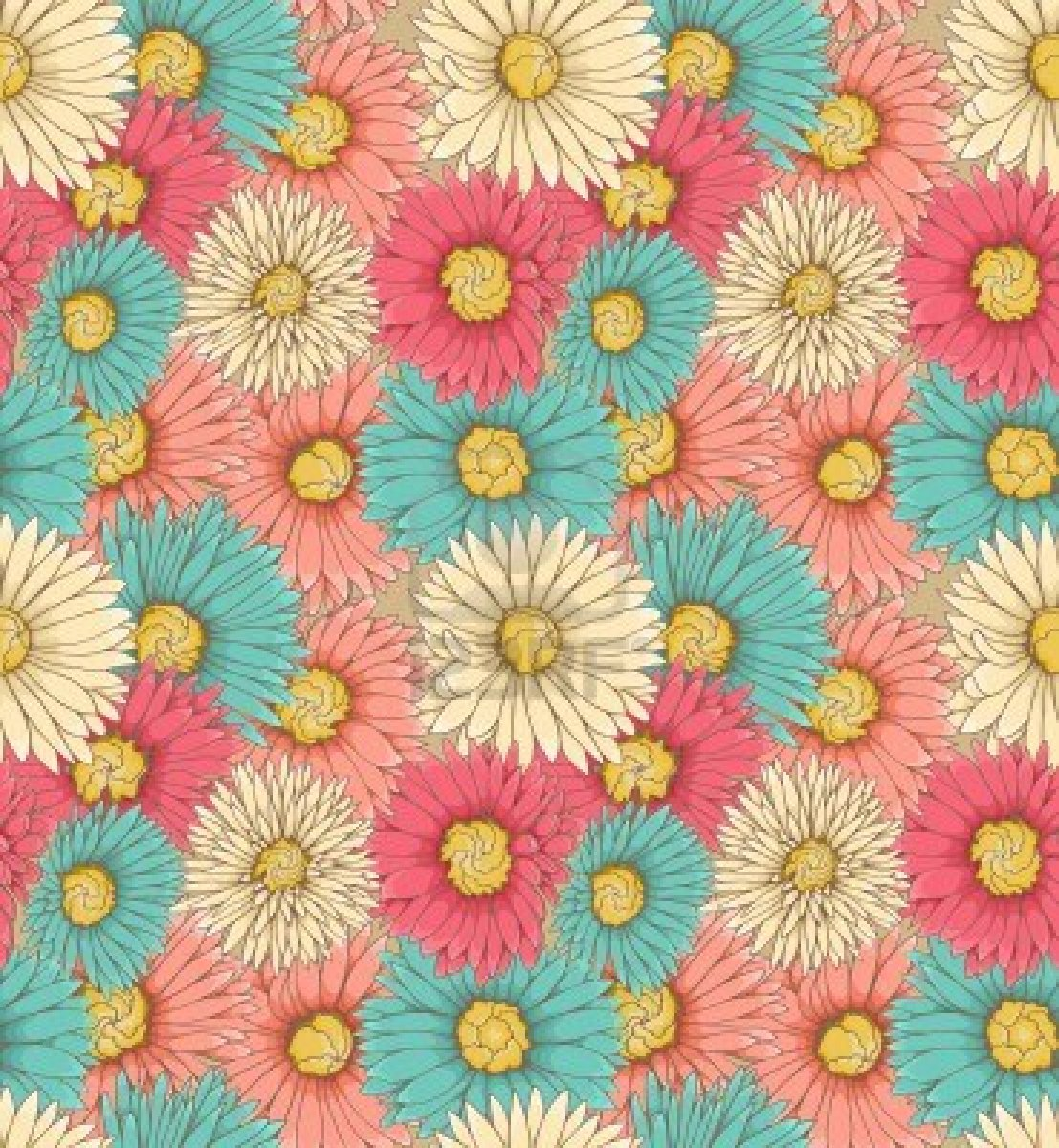 Floral Wallpapers Tumblr Iphone Vintage Fondos De Pantalla