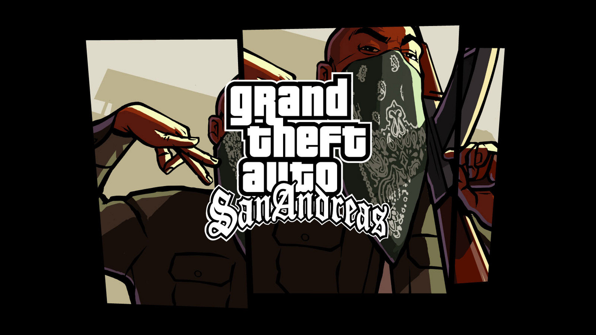 Awesome Grand Theft Auto - Gta San Andreas Wallpaper 4k , HD Wallpaper & Backgrounds