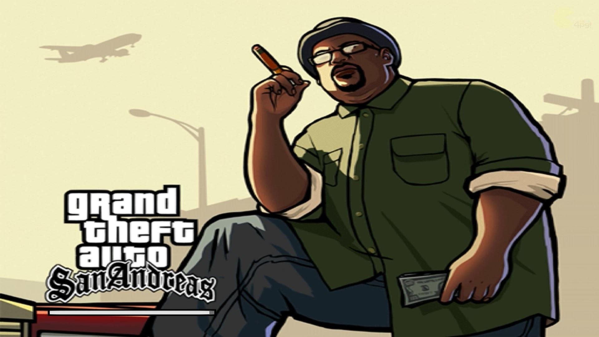 Grand Theft Auto V - Gta San Andreas Art , HD Wallpaper & Backgrounds