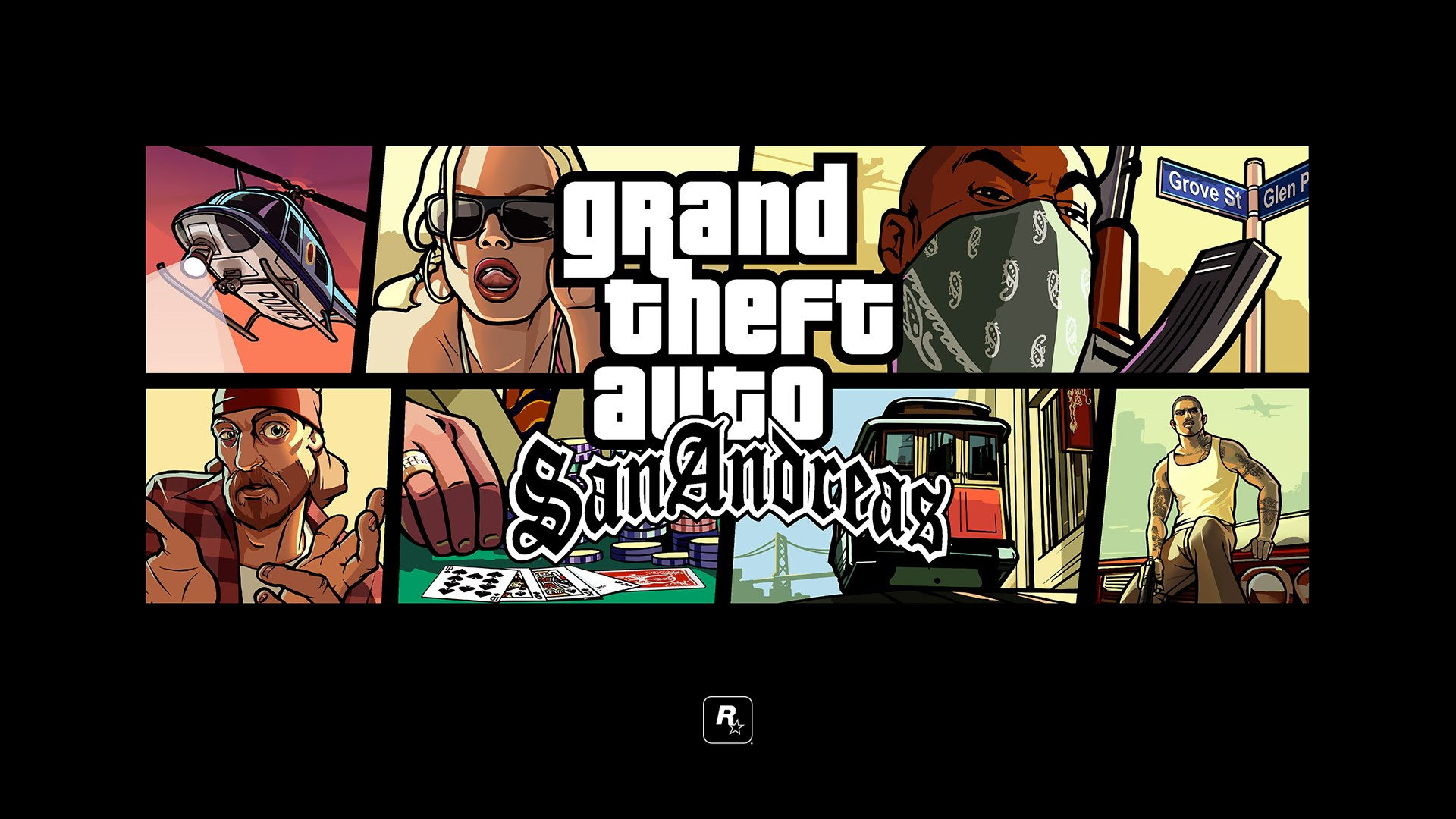 Grand Theft Auto San Andreas Collection Wynfield Holiday - Gta San Andreas Banner , HD Wallpaper & Backgrounds