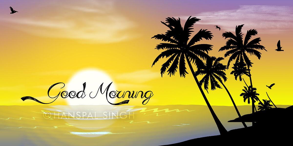 Good Morning Images Nature Design , HD Wallpaper & Backgrounds