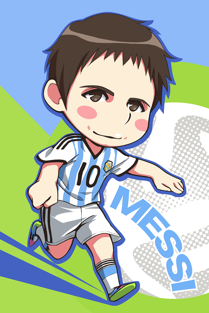 Messi Anime , HD Wallpaper & Backgrounds