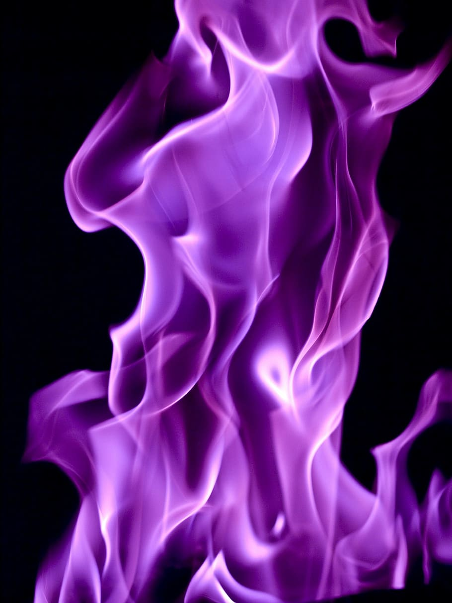 Purple Flame Graphic Art Flames Flickering Fire Purple Flame 2903897 Hd Wallpaper Backgrounds Download