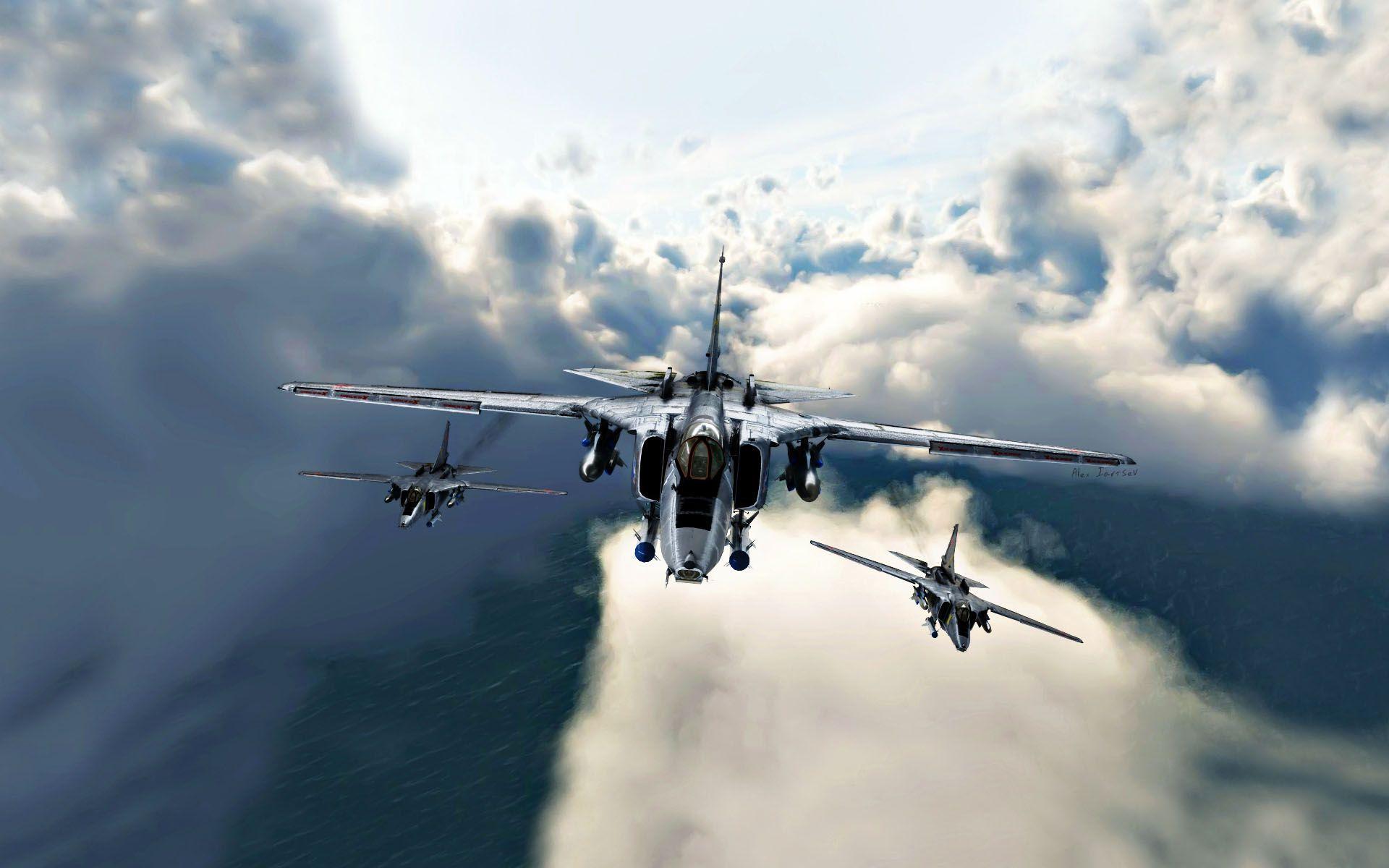 Fighter Jet Wallpaper   Data-src /full/824218 - Fighter Plane On Sky , HD Wallpaper & Backgrounds