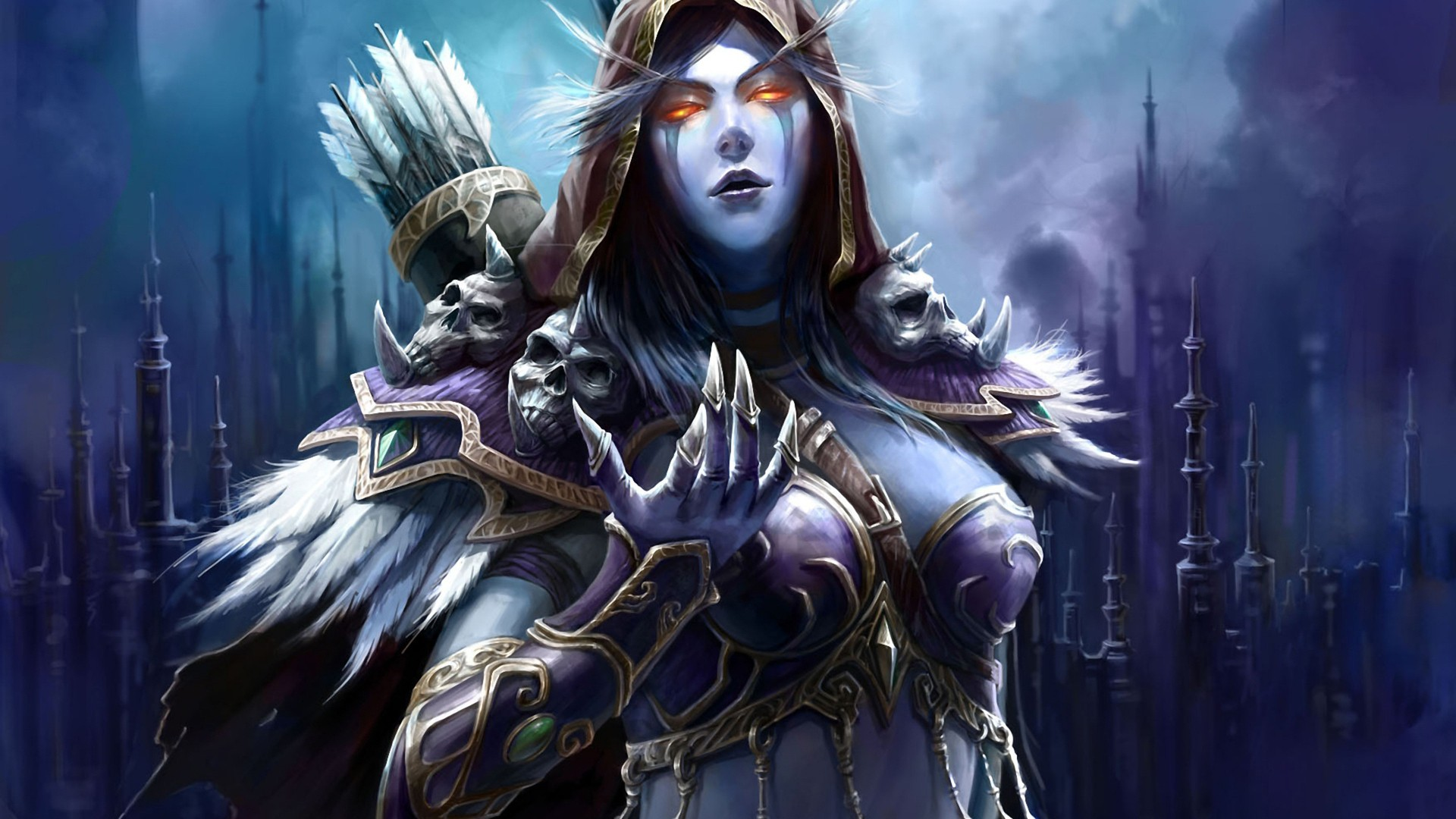 Free World Of Warcraft Wallpaper Src World Of Warcraft Wow Sylvanas 2911026 Hd Wallpaper Backgrounds Download