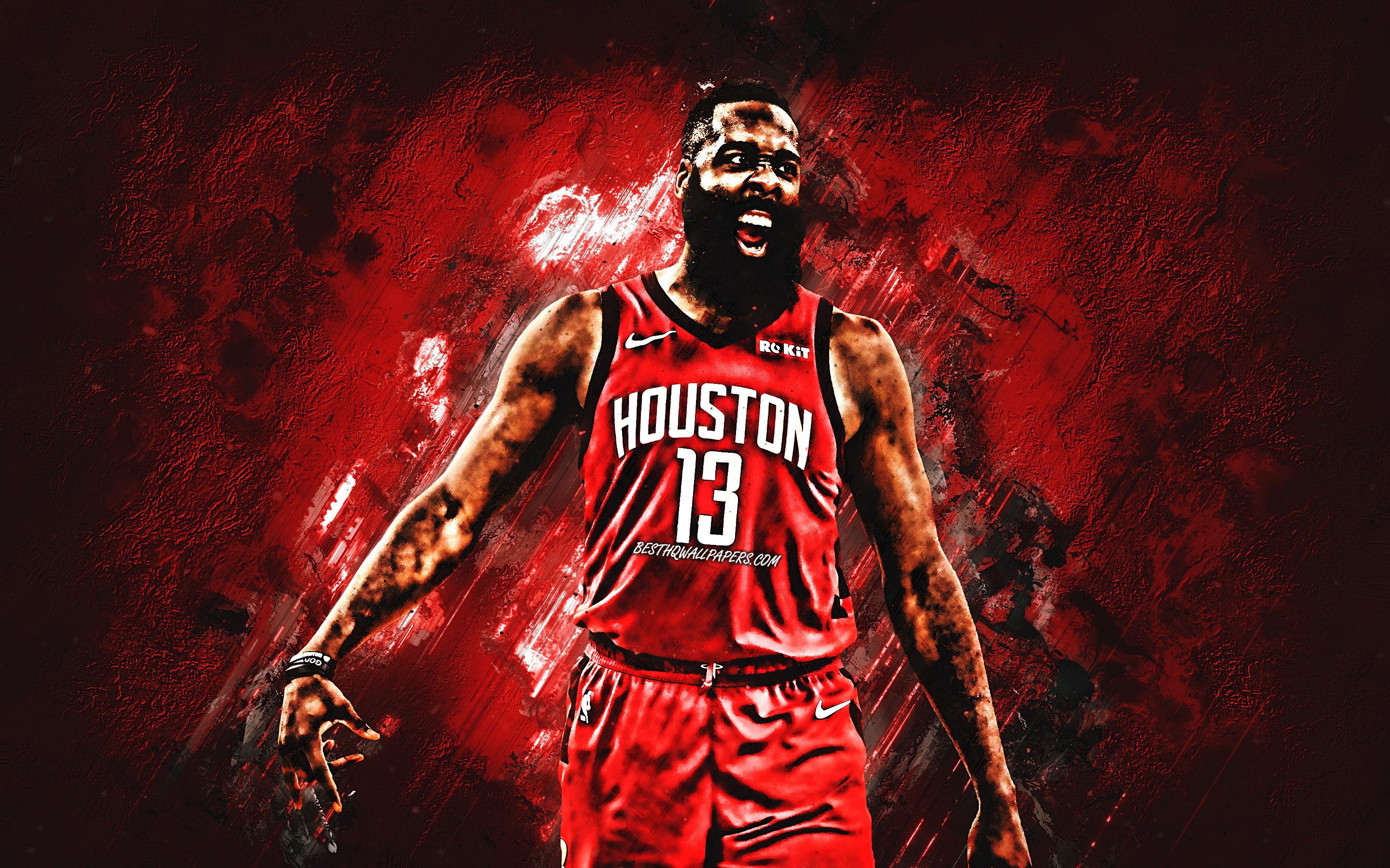 James Harden, Houston Rockets, Portrait, American Basketball - James Harden Fondo De Pantalla , HD Wallpaper & Backgrounds