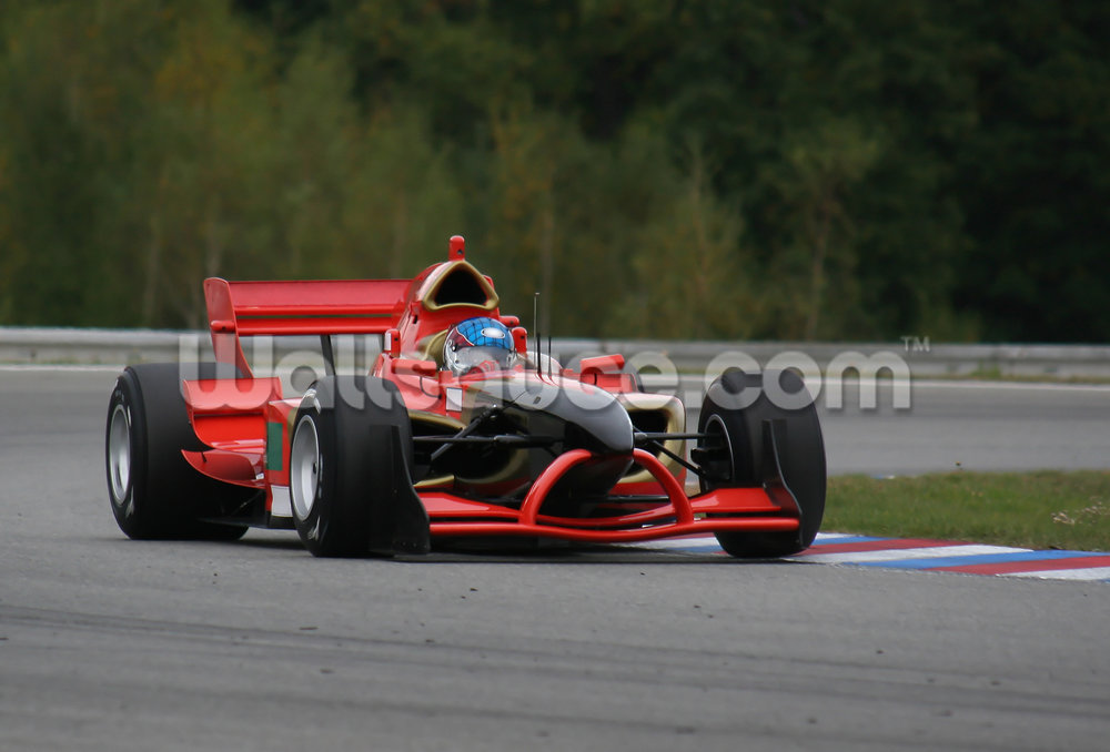 Track Race Car Wallpaper Mural - Indycar Series , HD Wallpaper & Backgrounds