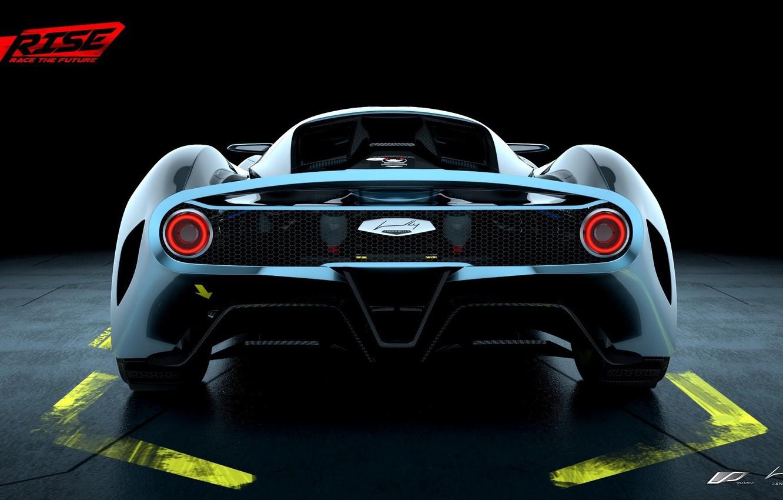Photo Wallpaper Car, Wallpaper, Silver, Sport, Game, - Rise: Race The Future , HD Wallpaper & Backgrounds