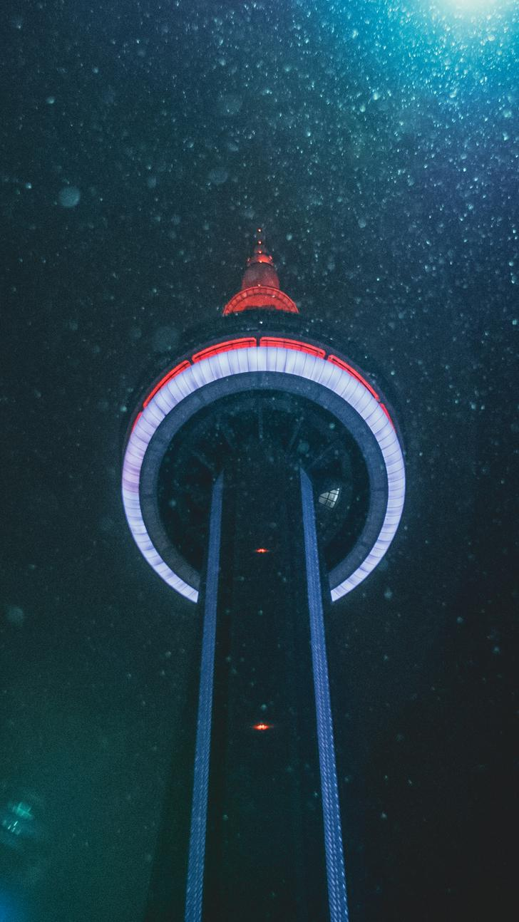 Cn Tower Wallpaper Iphone , HD Wallpaper & Backgrounds