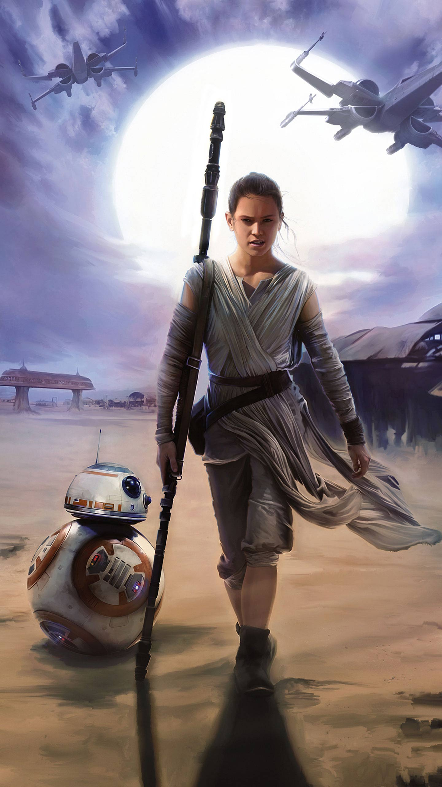 Star Wars Rey Star Wars Wallpaper Iphone 2926689 Hd Wallpaper Backgrounds Download