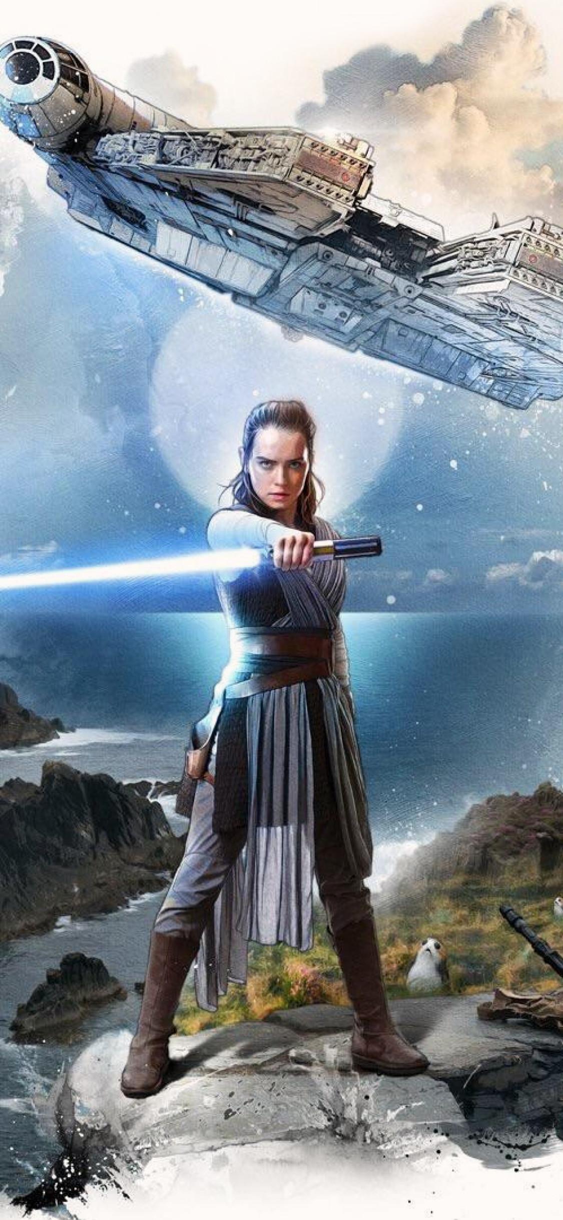 Star Wars Wallpaper Rey , HD Wallpaper & Backgrounds