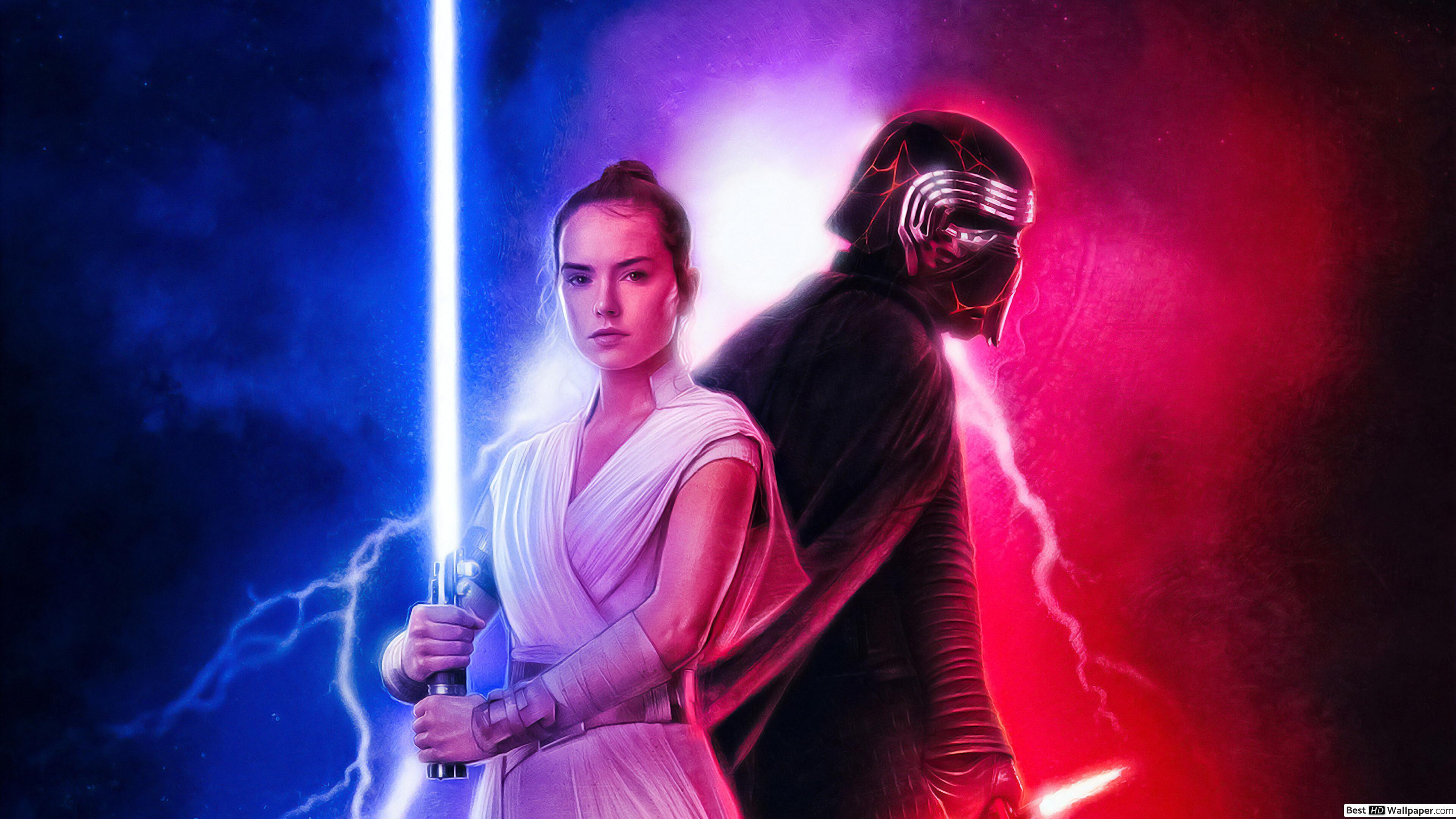 Rey Star Wars 9 , HD Wallpaper & Backgrounds