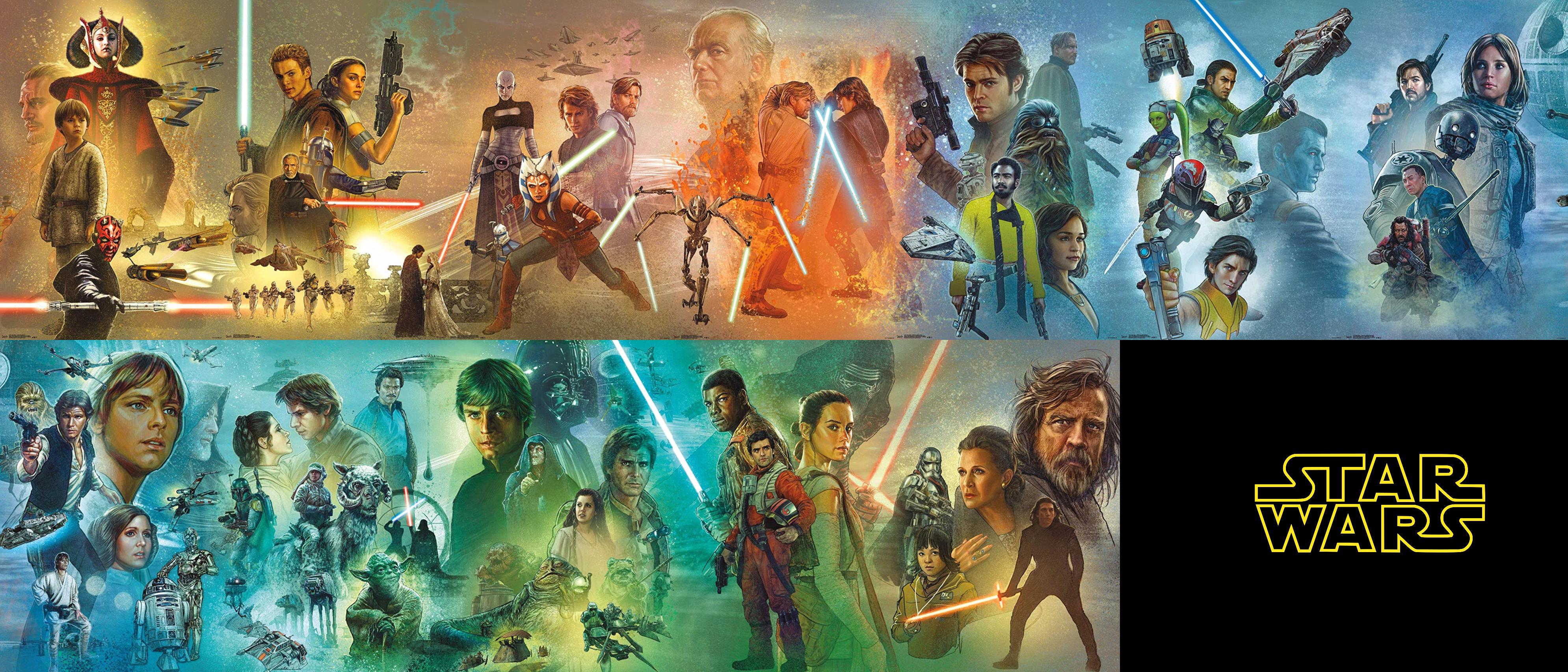 Star Wars Celebration Mural 2927321 Hd Wallpaper Backgrounds Download