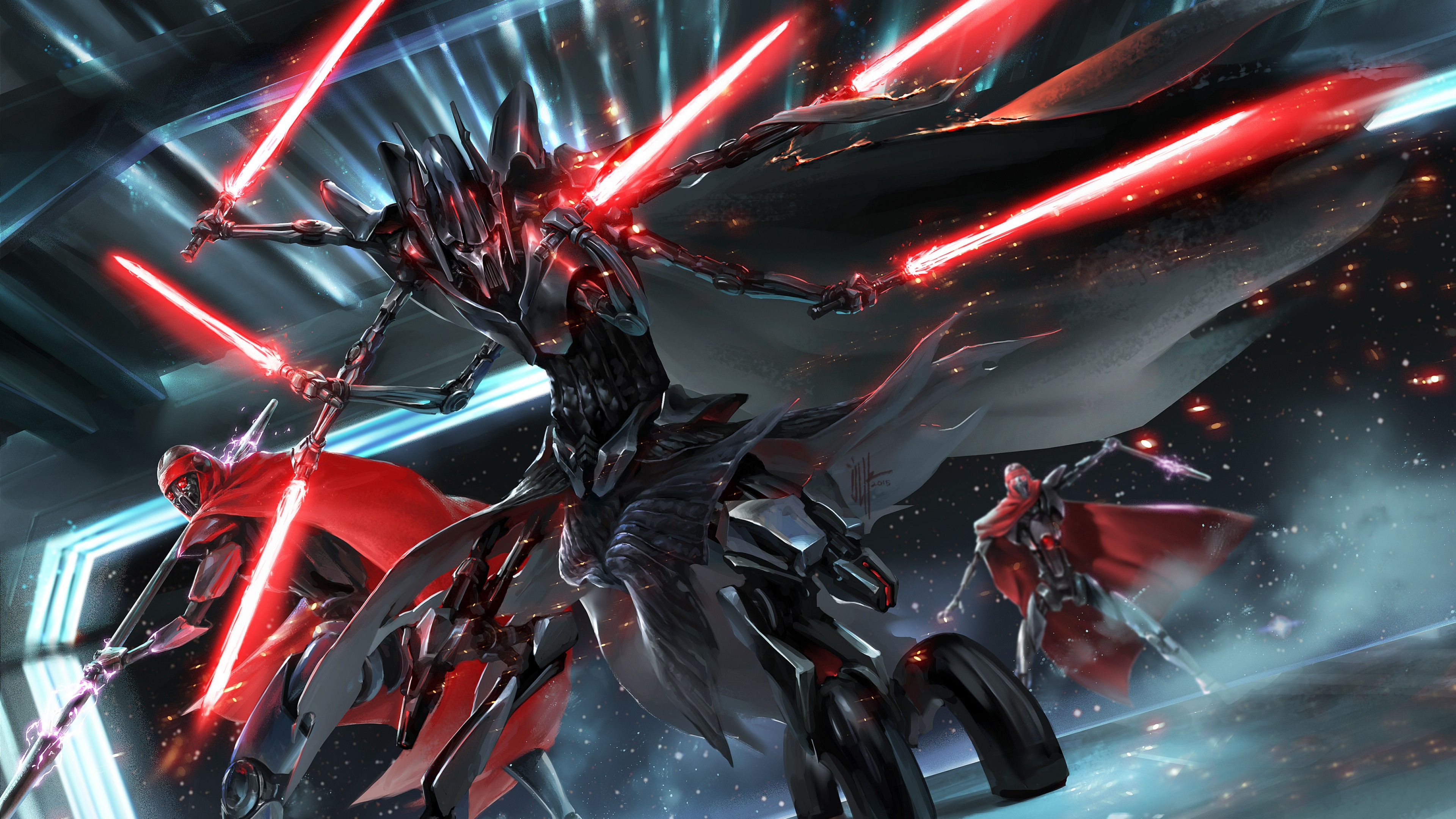 Star Wars General Grievous Sith 2927338 Hd Wallpaper Backgrounds Download