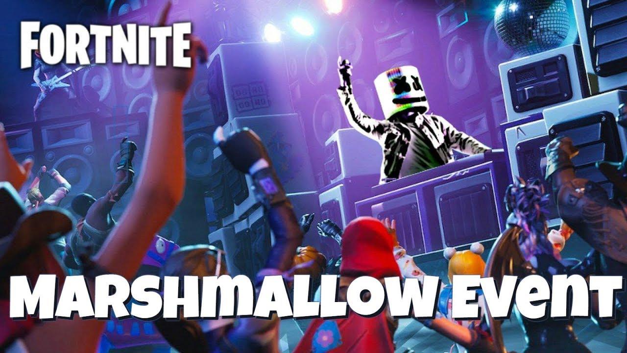 Marshmallow Event Wallpaper Fortnite Marshmello Event 2928313 Hd Wallpaper Backgrounds Download