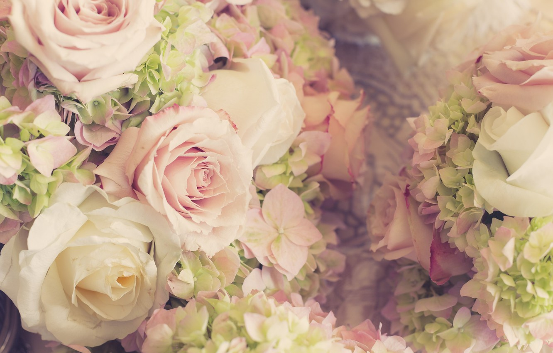 Photo Wallpaper Flowers, Roses, Bouquet, Wedding, Flowers, - Wedding Flowers , HD Wallpaper & Backgrounds