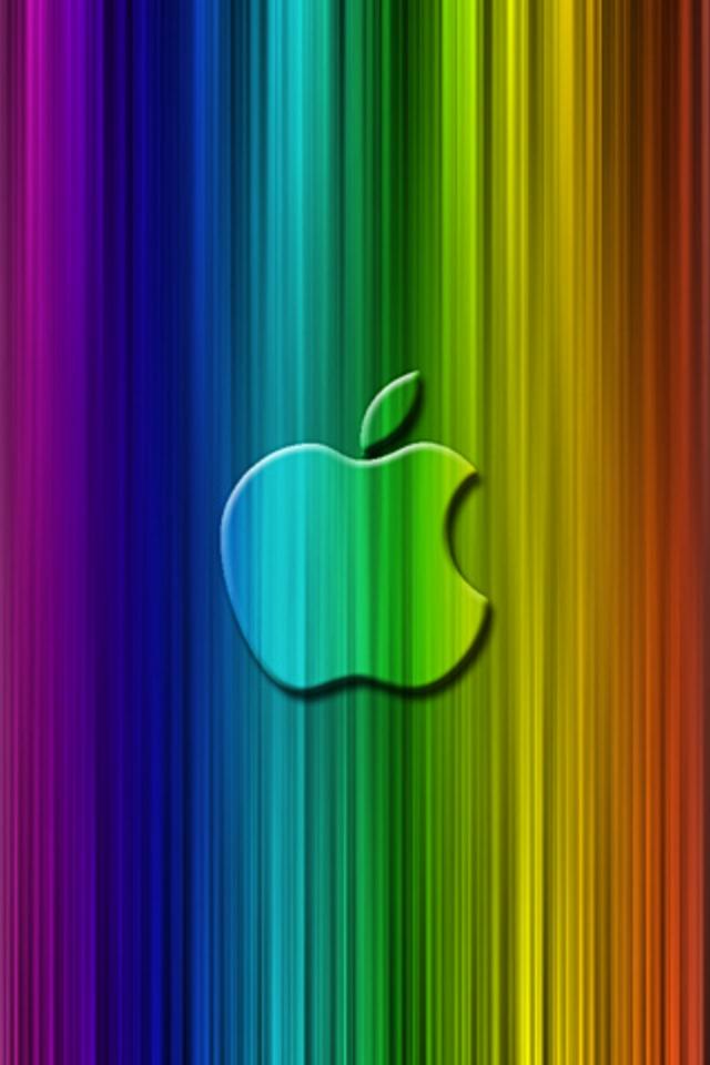 Apple Rainbow Ipod Touch Wallpaper - Fond D Écran Ipod Touch , HD Wallpaper & Backgrounds