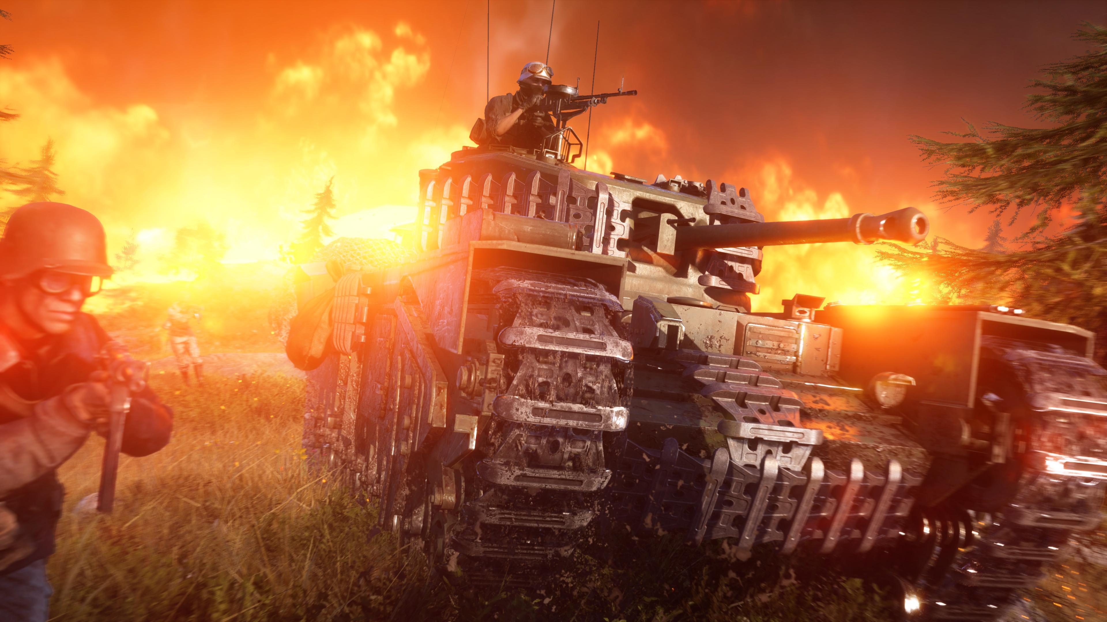 Battlefield V Clean Wallpaper 4k - Battlefield 5 Wallpaper 4k , HD Wallpaper & Backgrounds
