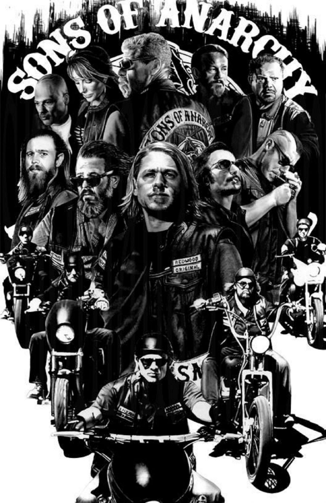 Sons Of Anarchy Wallpaper Iphone - Sons Of Anarchy Iphone , HD Wallpaper & Backgrounds