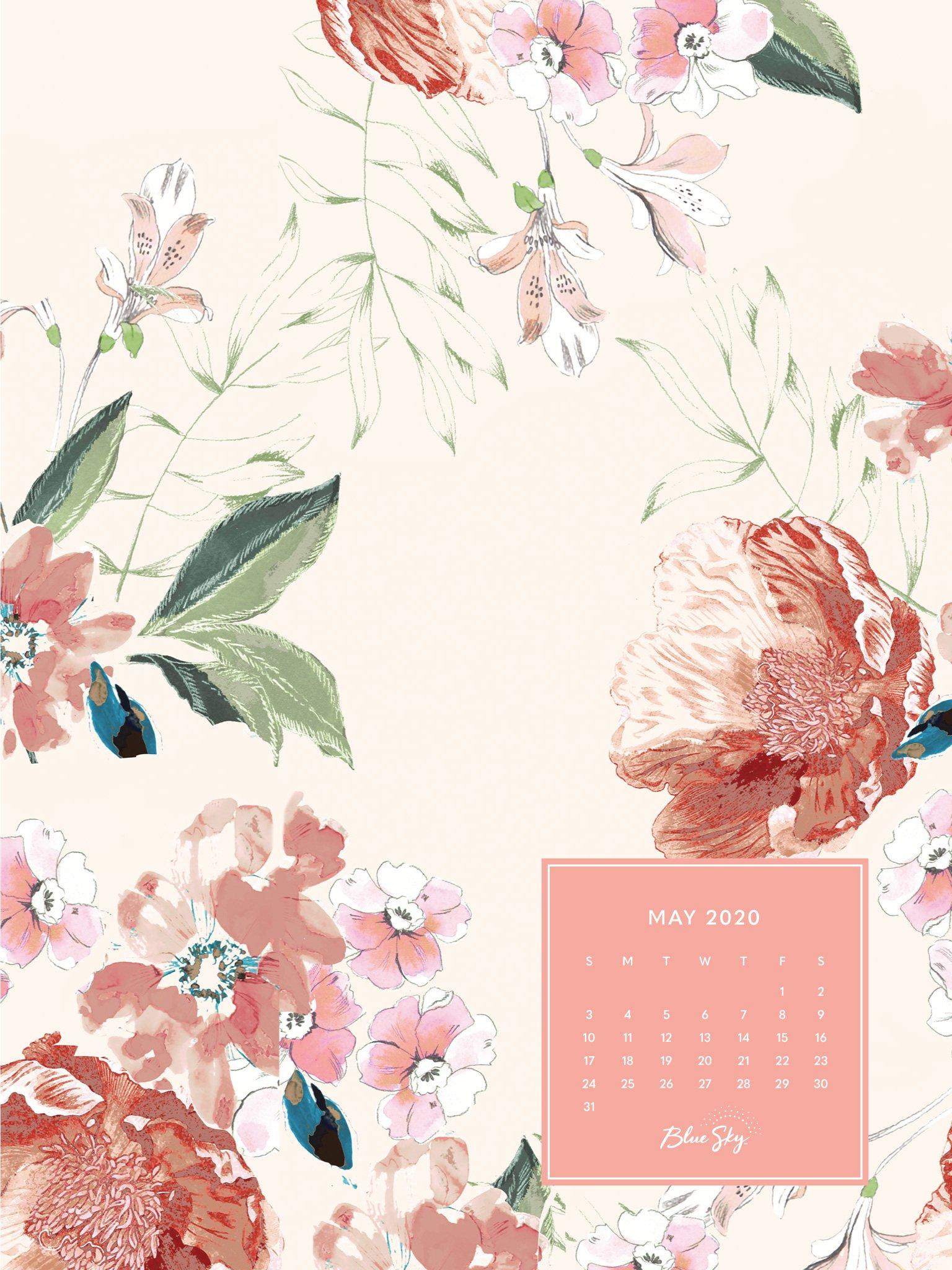 May 2020 Calendar Desktop , HD Wallpaper & Backgrounds