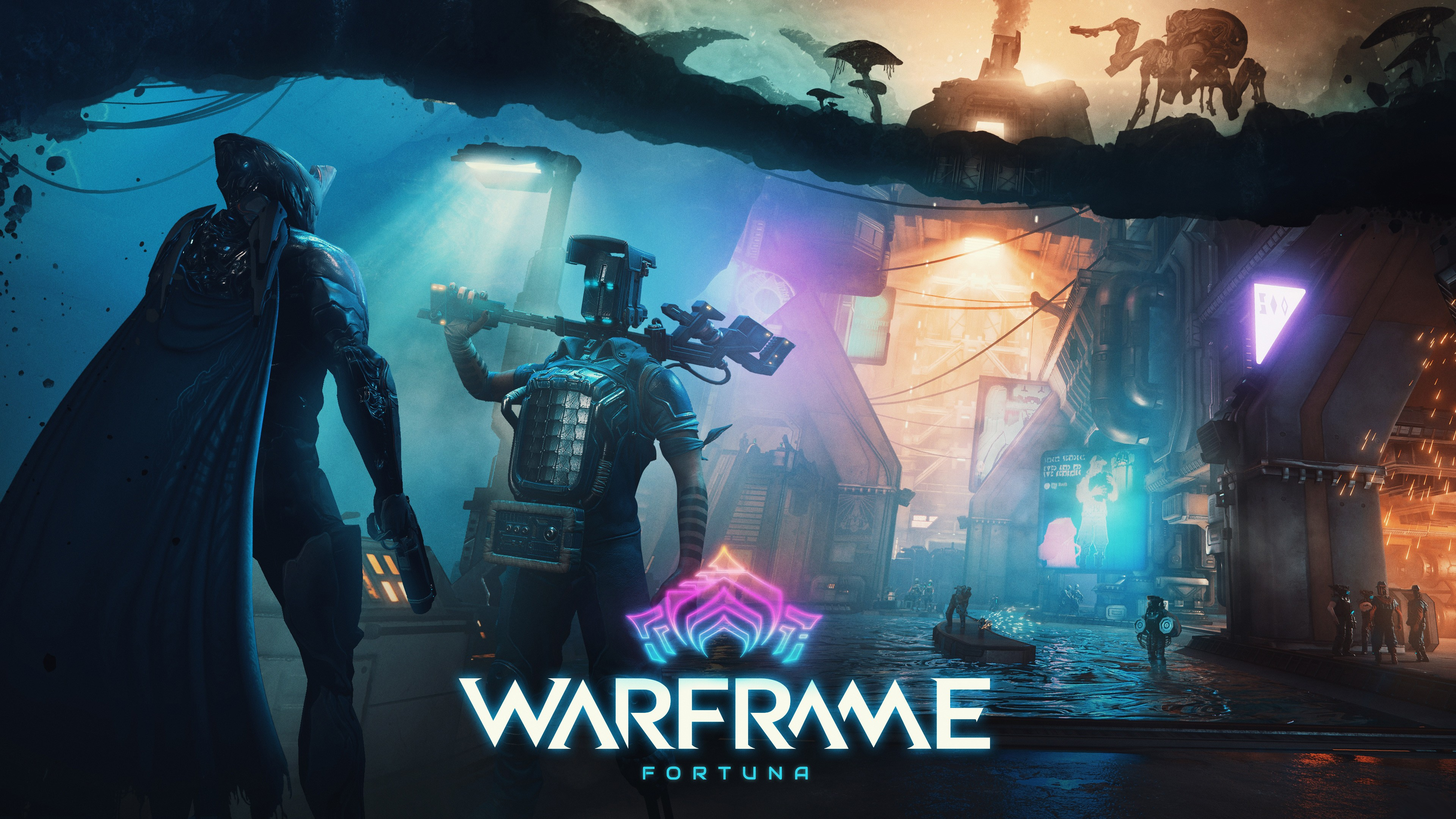 Warframe Fortuna , HD Wallpaper & Backgrounds