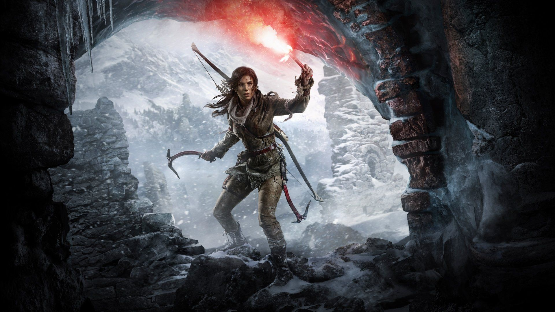 Rise Of The Tomb Raider Hd Wallpaper - Rise Of Tomb Raider , HD Wallpaper & Backgrounds