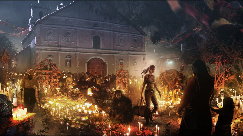 Shadow Of The Tomb Raider Mexico , HD Wallpaper & Backgrounds