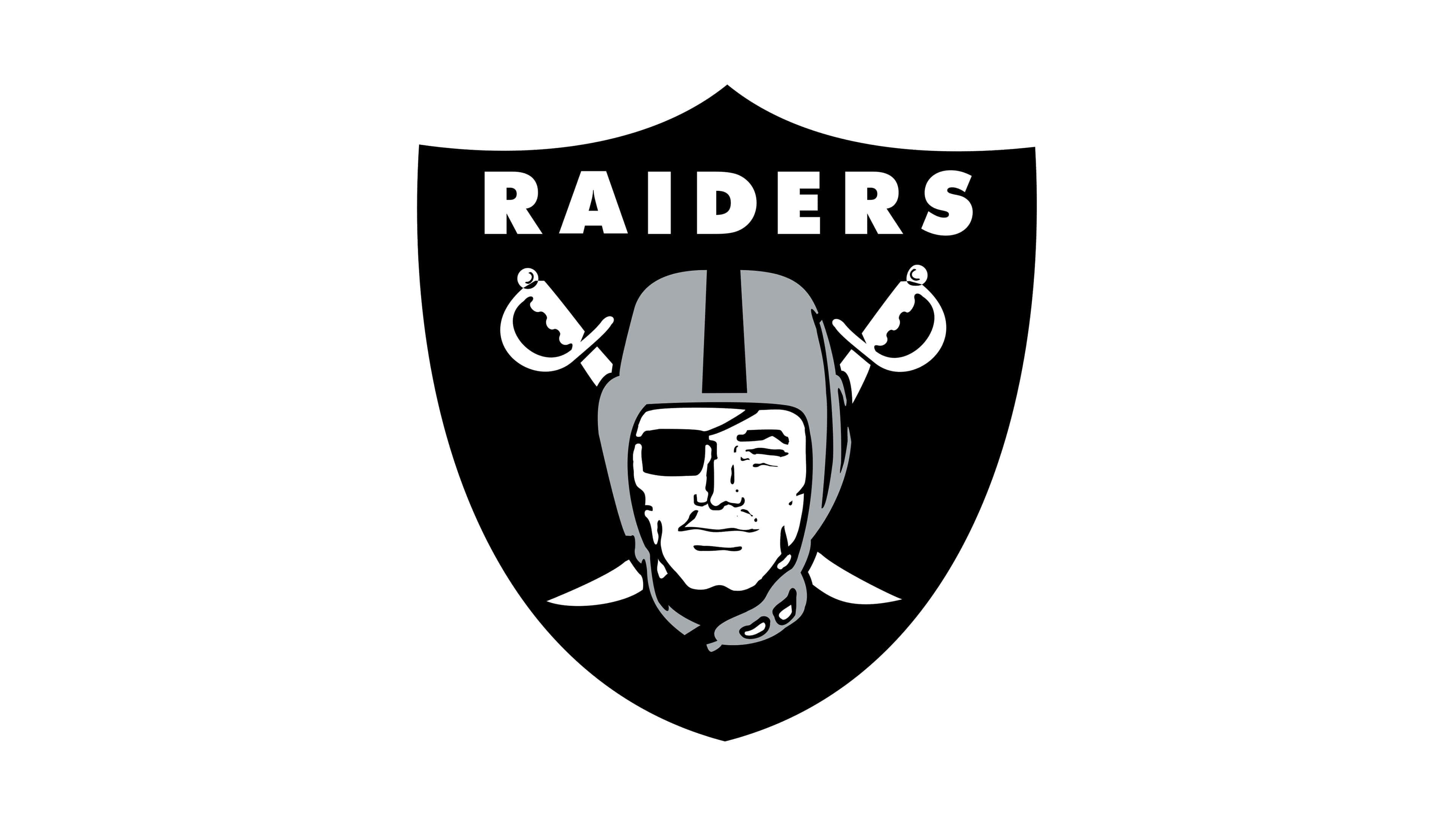 Oakland Raiders Nfl Logo Uhd 4k Wallpaper - Oakland Raiders Logo Svg , HD Wallpaper & Backgrounds