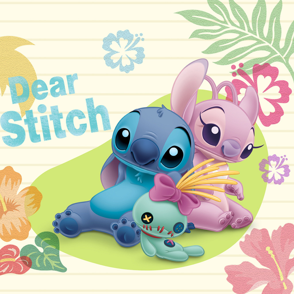 Lilo And Stitch Experiment 624 Angel Wallpaper Girl Stitch And Stitch 2943273 Hd Wallpaper Backgrounds Download