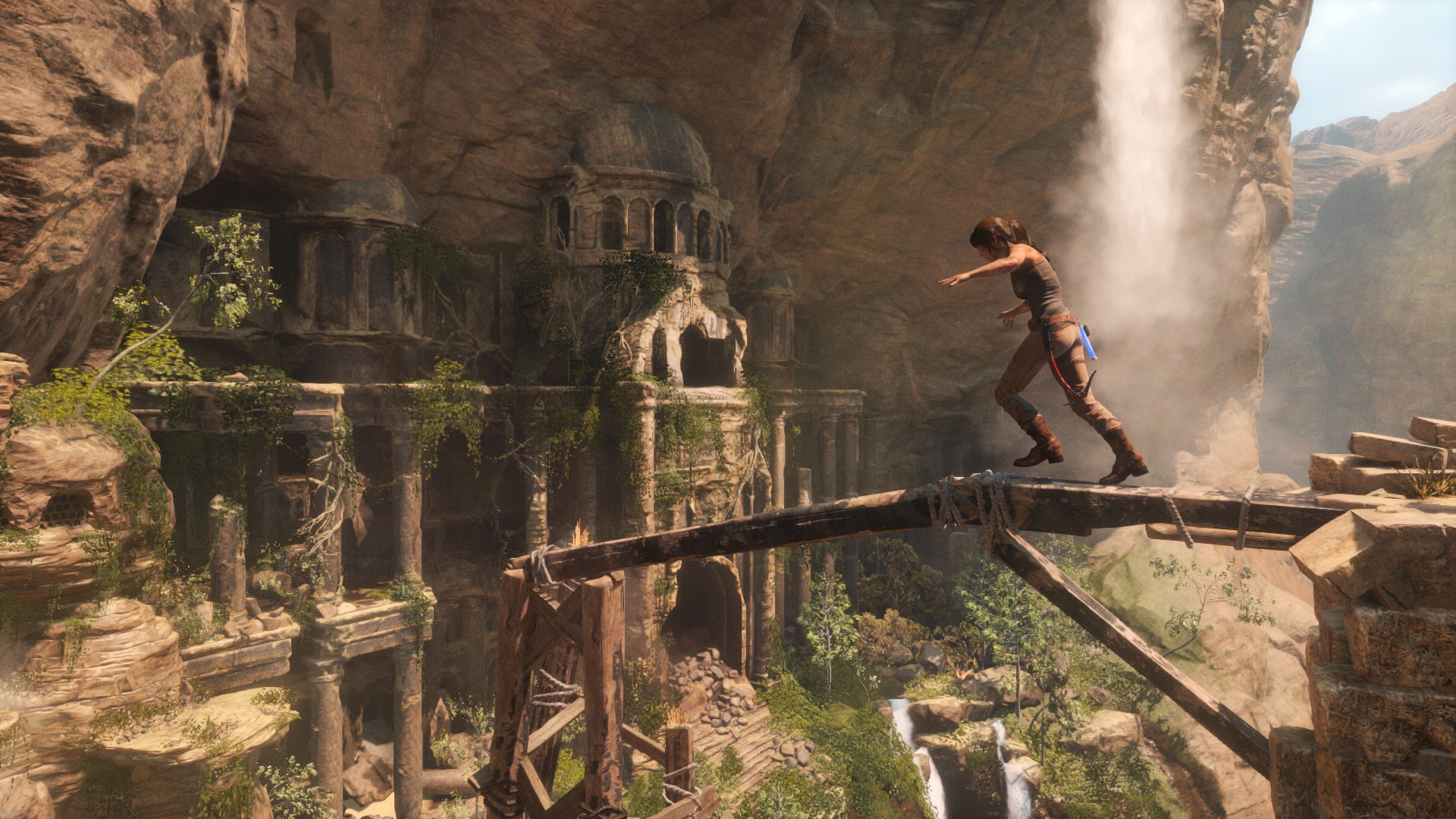 Rise Of The Tomb Raider Wallpaper - Rise Of The Tomb Raider Review , HD Wallpaper & Backgrounds