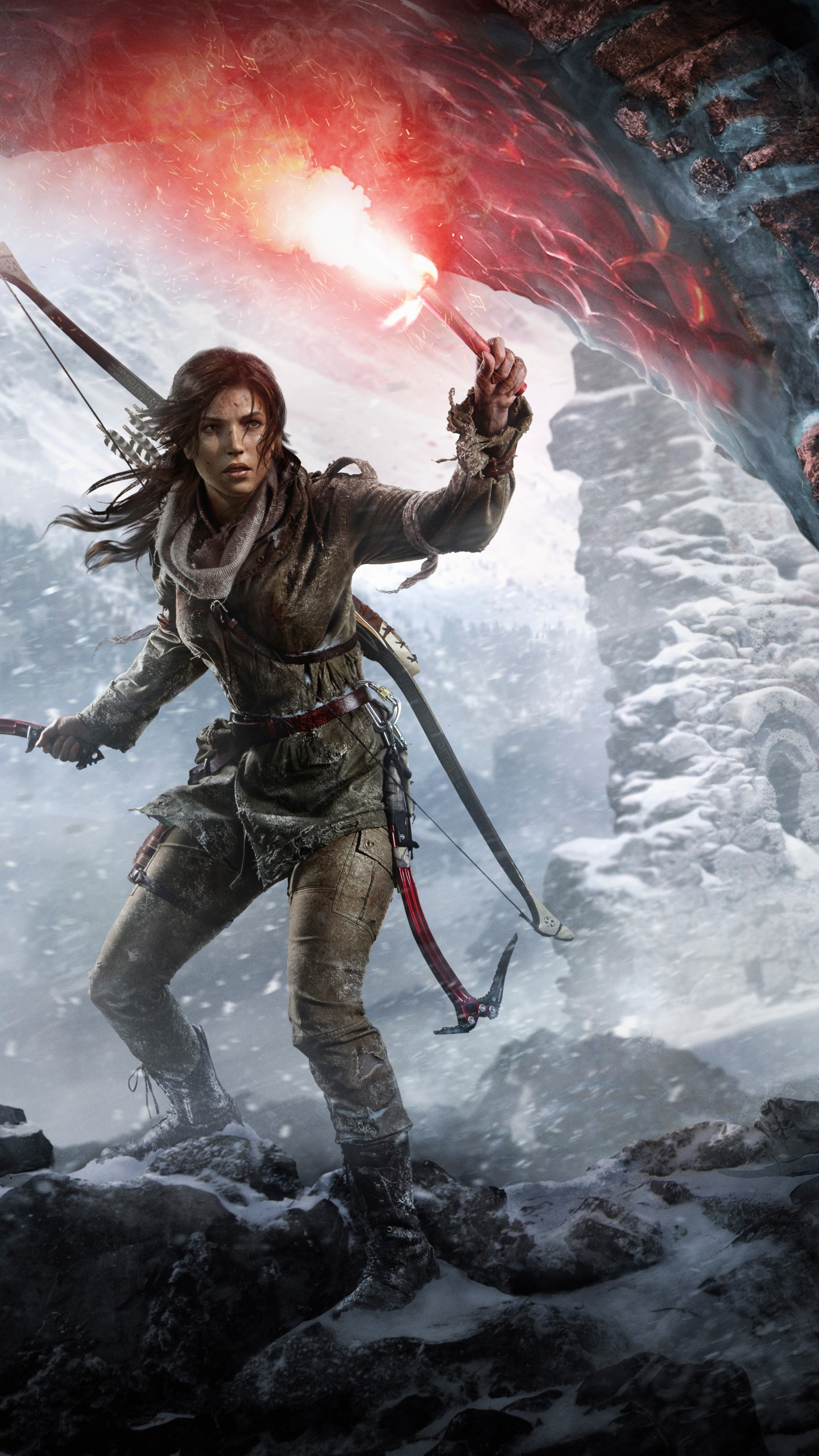 Rise Of The Tomb Raider Poster , HD Wallpaper & Backgrounds
