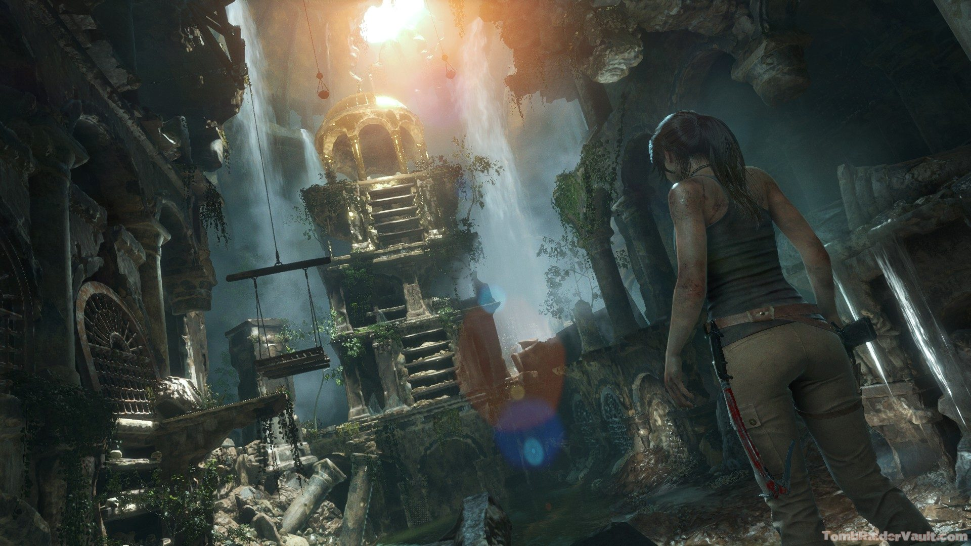 Rise Of The Tomb Raider Tomb , HD Wallpaper & Backgrounds