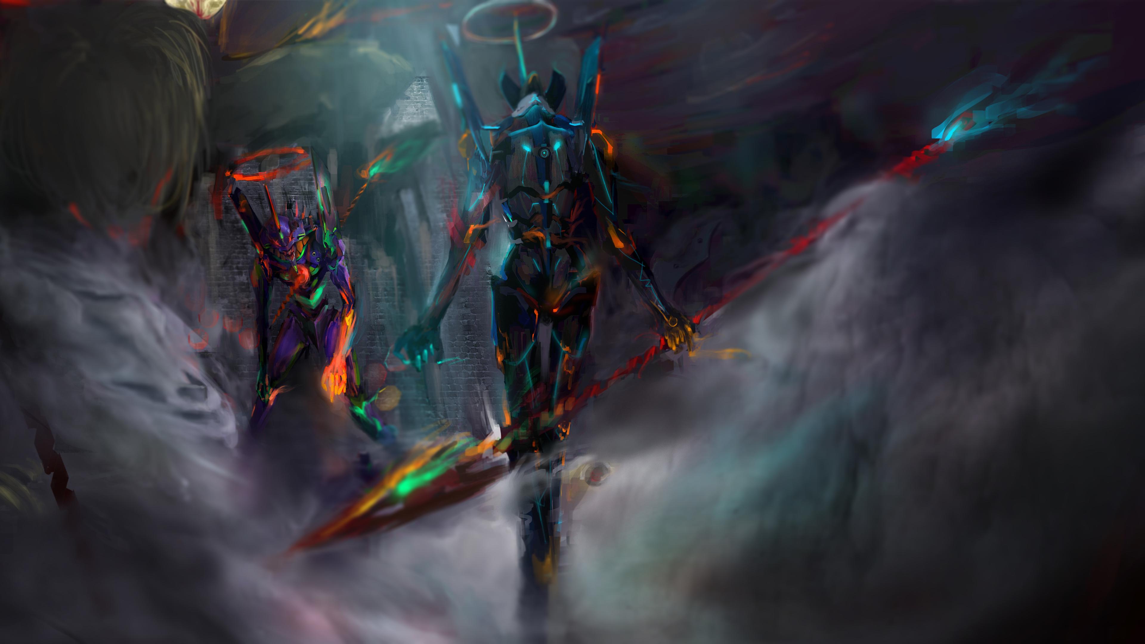4k Pictures Wallpapers Neon Genesis Evangelion Wallpaper 4k 2944056 Hd Wallpaper Backgrounds Download