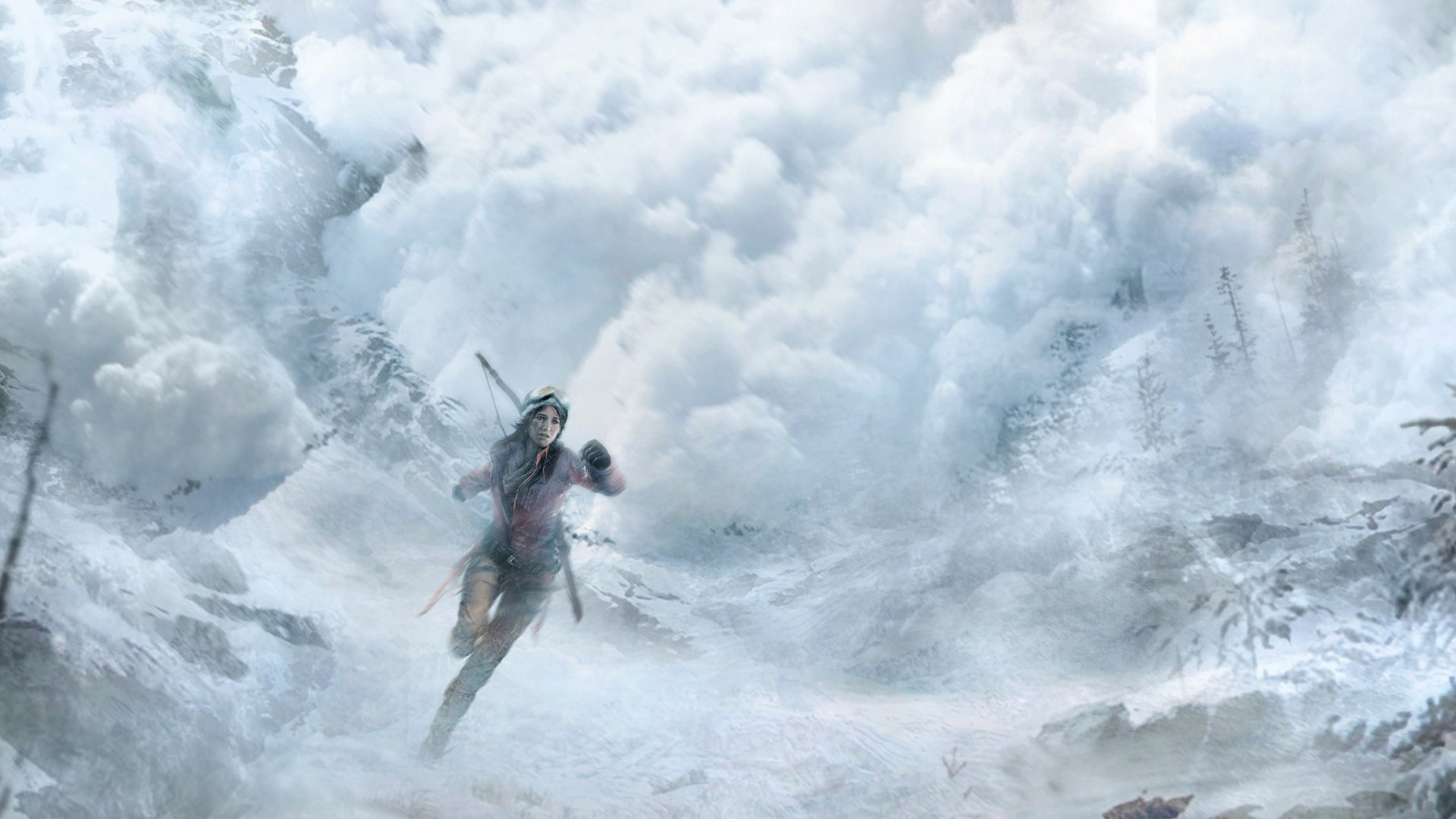 Free Rise Of The Tomb Raider Wallpaper In - Зима , HD Wallpaper & Backgrounds