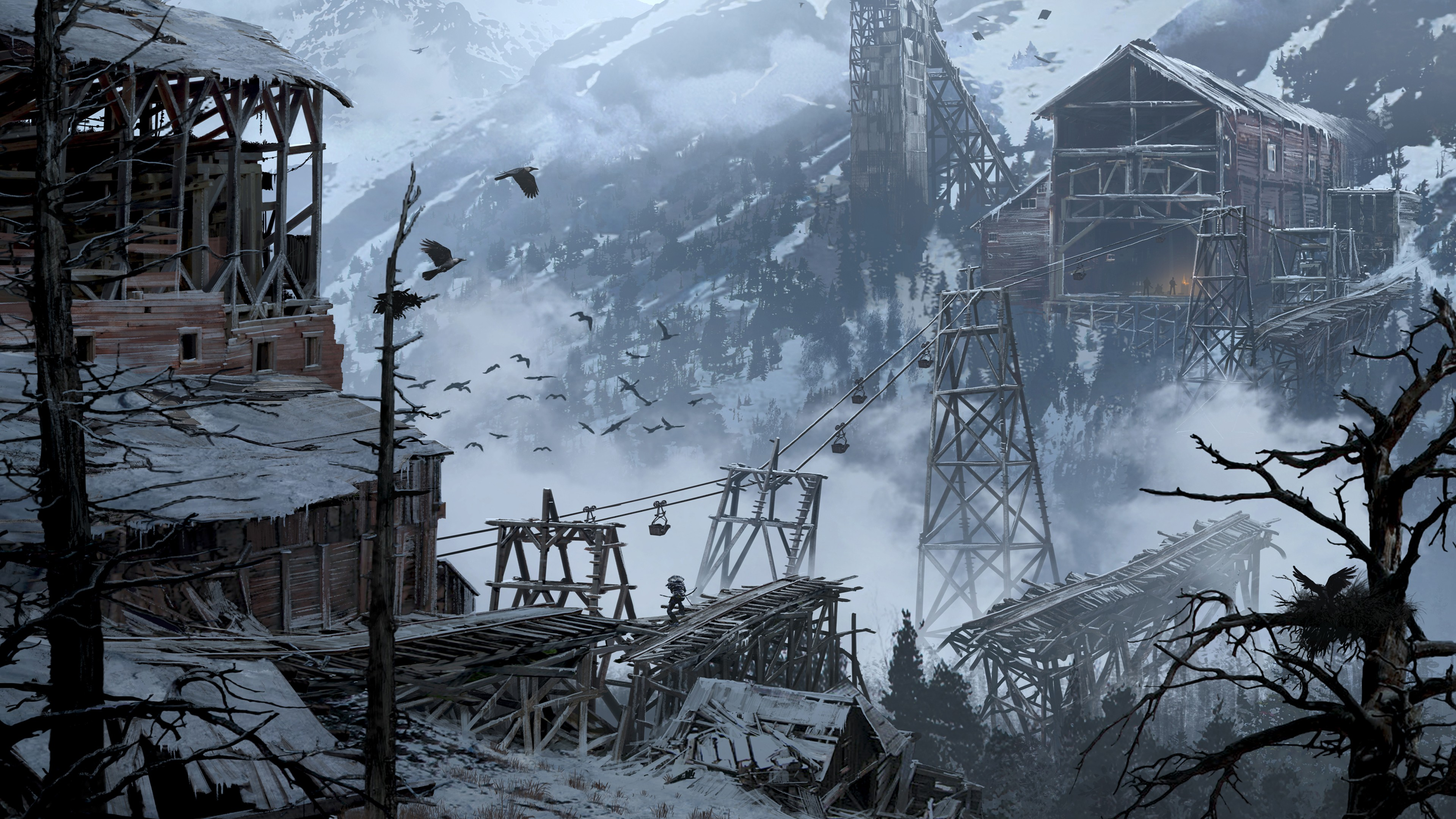 Rise Of The Tomb Raider Concept Art , HD Wallpaper & Backgrounds