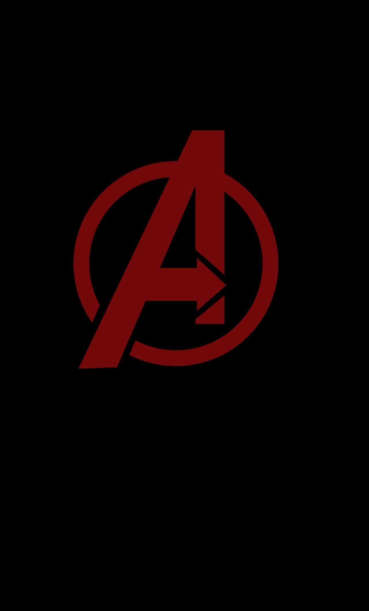 Avengers Minimal Logo Iphone Hd 4k Wallpaper Data Src Avengers Logo Wallpaper Hd For Mobile 2946246 Hd Wallpaper Backgrounds Download